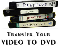 Video to DVD Transfer Service - Christchurch